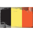 belgium national flag vector image