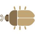 Bieetle icon vector image vector image