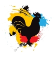 chinese year rooster zodiac vector image