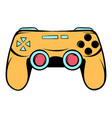 console joystick icon cartoon vector image vector image