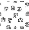 pet shop seamless pattern vector image vector image