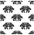 Repeat seamless pattern of arabesques vector image vector image