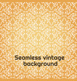 seamless damask floral pattern baroque wallpaper vector image