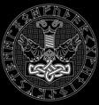 thor s hammer - mjollnir scandinavian runes