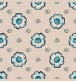 abstract floras pattern background vector image