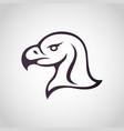 eagle logo icon vector image vector image
