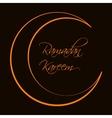 Ramadan Kareem Background Design vector image