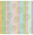 Seamless colorful pastel background4 vector image vector image