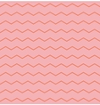 Tile pattern with zig zag on pink background vector image vector image