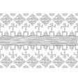 african print fabric ethnic tribal handmade motifs vector image vector image