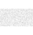 binary matrix code computer data stream digital vector image vector image