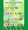 can you solve math vector image vector image