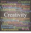 Creativity vector image vector image