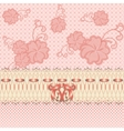 lace greeting card vector image vector image