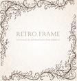 Rustic Vintage Frame vector image vector image