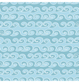 seamless pattern with waves vector image vector image