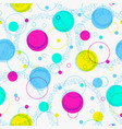 abstract geometric background festive pattern vector image