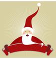 Christmas Happy Santa Claus vector image