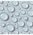 drops of water vector image vector image