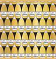 golden party champagne bottles celebration vector image