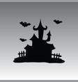 house hallowen clip art vector image