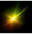 Light flare effect vector image vector image