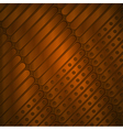 Steampunk background of metal plates vector image vector image