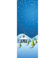winter banner2 vector image