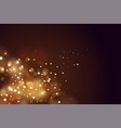 abstract defocused circular golden luxury gold vector image vector image