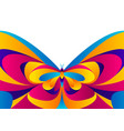 background design with butterfly vector image