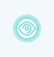 eye icon sign symbol vector image vector image