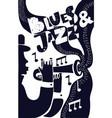 jazz poter vector image
