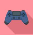 joystick icon flat style vector image vector image