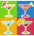 martini vector image vector image