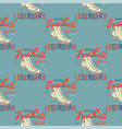 retro american footnall pattern college rugby vector image