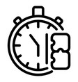 stopwatch adaptation icon outline style