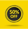 summer sale banner 50 vector image