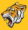 tiger head modification vector image