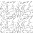 Abstract Contour Seamless Background vector image vector image