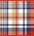 check classic tartan seamless pattern vector image vector image