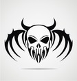 Demon Skulls Tribal vector image vector image