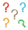 Question symbol vector image vector image