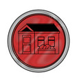 isolated scribble home vector image