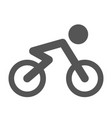 bicycle icon bicycle vector image