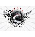 Bowling Emblem vector image vector image