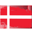Denmark national flag vector image
