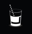 drink juice vector image vector image