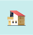 family home modern house vector image vector image