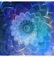 Lightning vortex background vector image