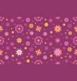 lotus flower seamless pattern background vector image